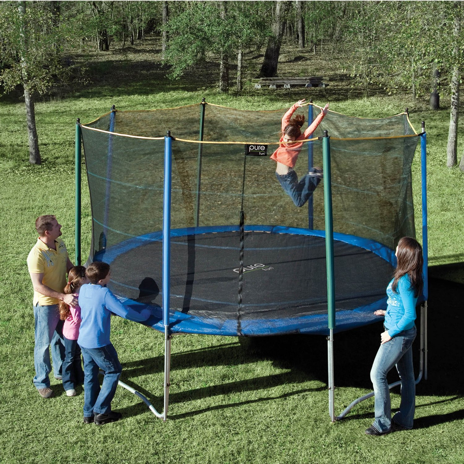 12 Foot Trampoline Mat And Springs: Pure Fun 12-Foot Trampoline With Enclosure Review