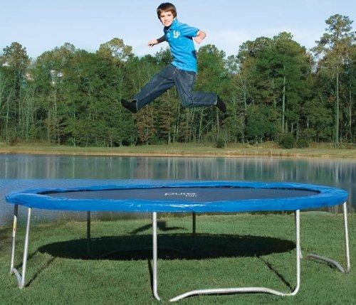 pure fun 14 ft trampoline