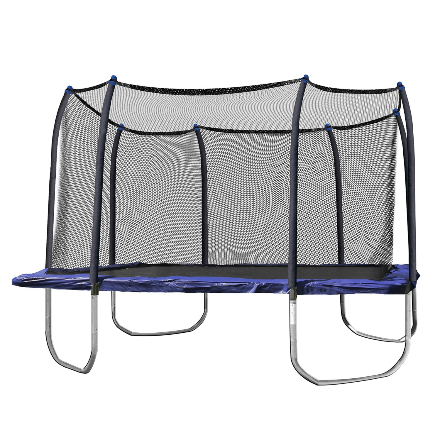 Skywalker 14 Foot Square Trampoline And Enclosure With Spring Pad