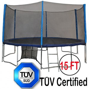 A Comprehensive TUV Approved Zupapa 15 Ft Trampoline Review